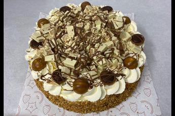 Chocolade surprise taart