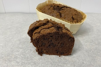 Double choc chocolade cake