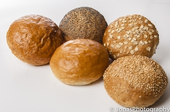 Tarwe broodjes zacht